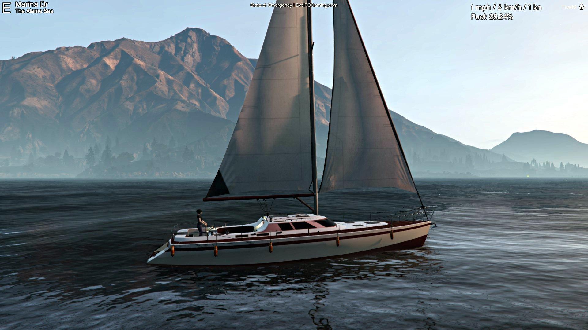 Vivien Lake First Sailing Trip