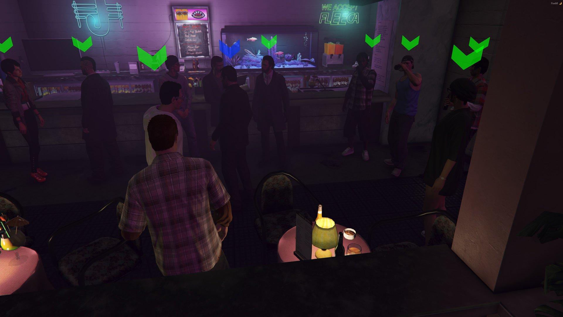 Group Party at the V.U. !